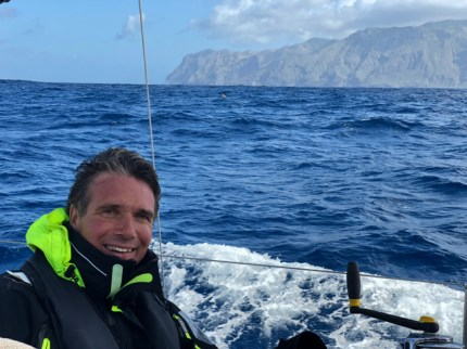Rounding La Palma's North Cape