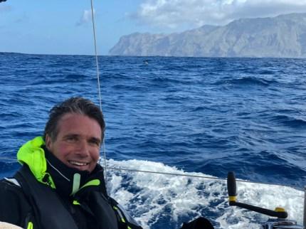 Rounding La Palma's North Cape