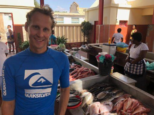 Mindelo fish market