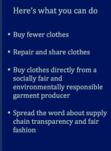 Here's what you can do - Pitupi Fair Fashion