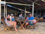 Floris' birthday dinner & farewell with Mystic Blue & Seahorse crews