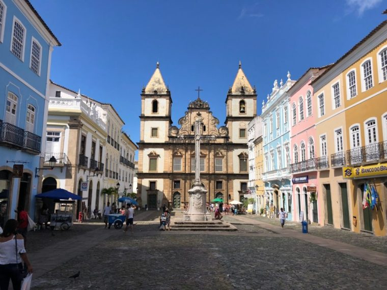 Salvador's historic center
