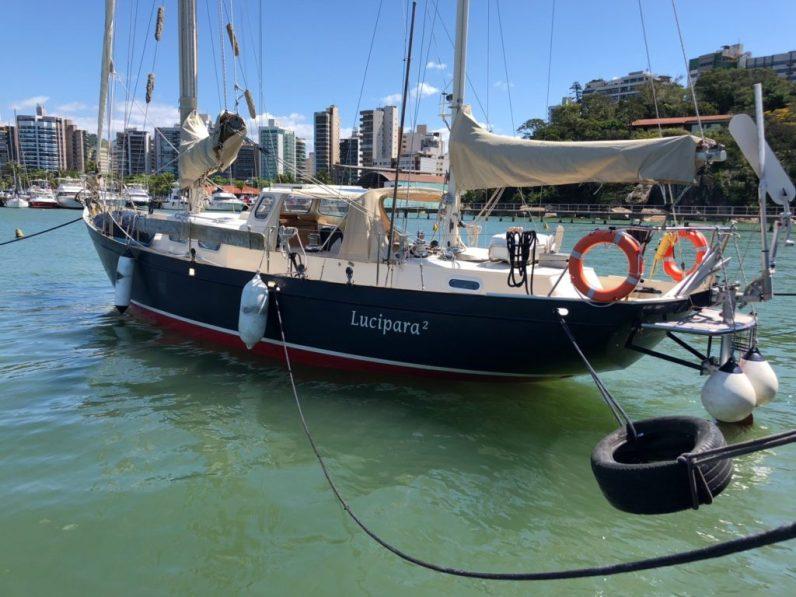 Luci at the Vitória Yacht Club