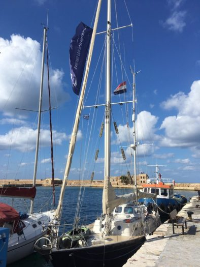 At the quay in Chania - Crete