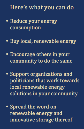 Here's what you can do - Energy on El Hierro