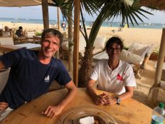 We meet Nuno on Sal after the underwater clean up