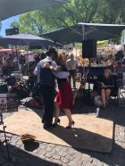 Live Tango street performance