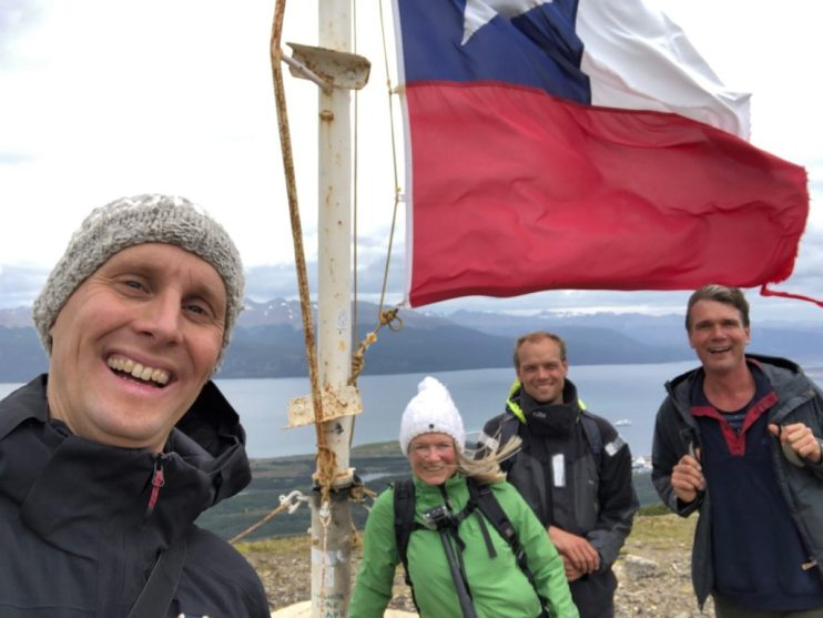 Hiking on Chilean island of Navarino