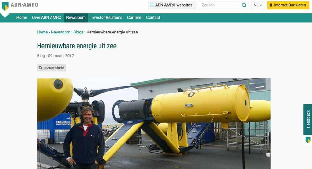 Blog 10 NL Sailors for Sustainability at ABN AMRO Marine Energy