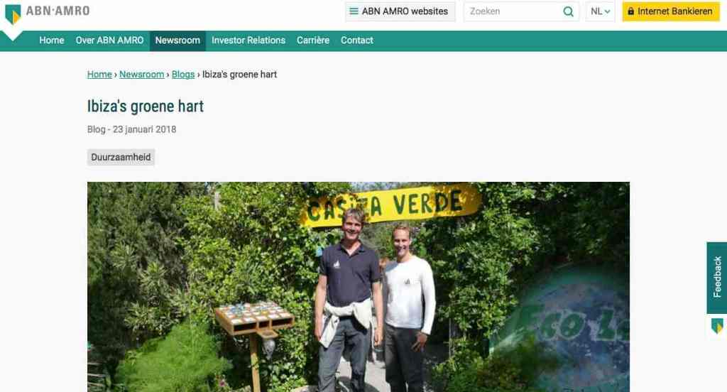 Blog 18 NL Sailors for Sustainability at ABN AMRO Ibizas Green Heart