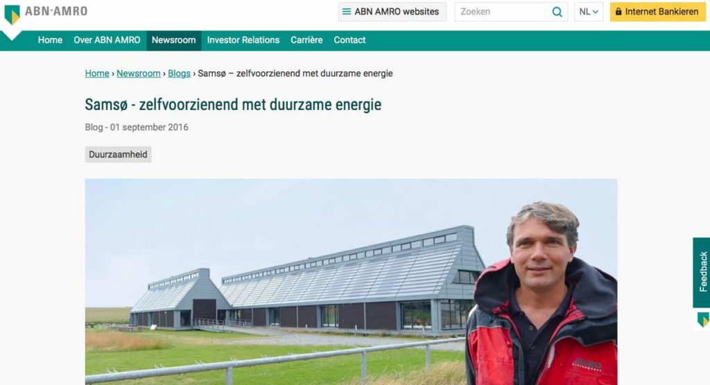 Blog 4 NL Sailors for Sustainability at ABN AMRO Samso
