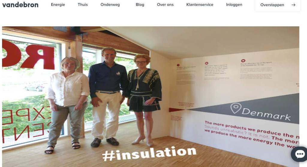Blog 6 Sailors for Sustainability at Vandebron about Insulation
