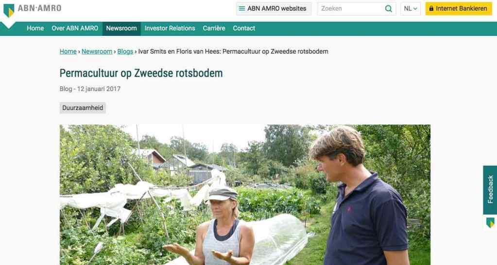 Blog 8 NL Sailors for Sustainability at ABN AMRO Permaculture
