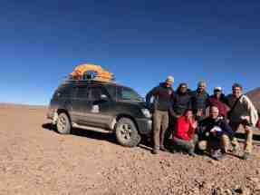Our Uyuni expedition group