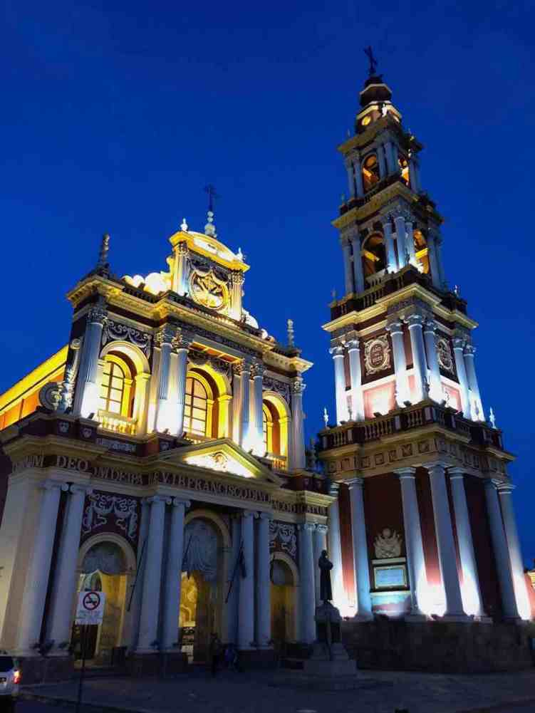 San Francisco church in Salta