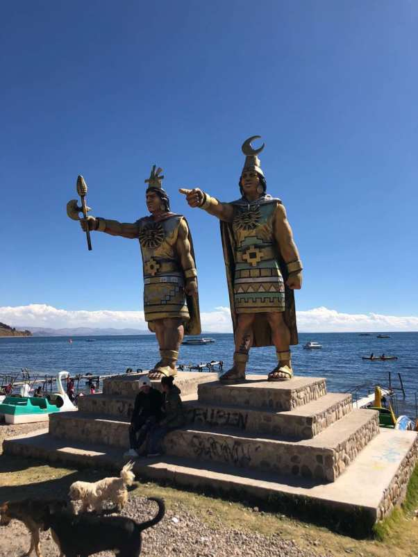 Tribute to Lake Titicaca's indegenious inhabitants