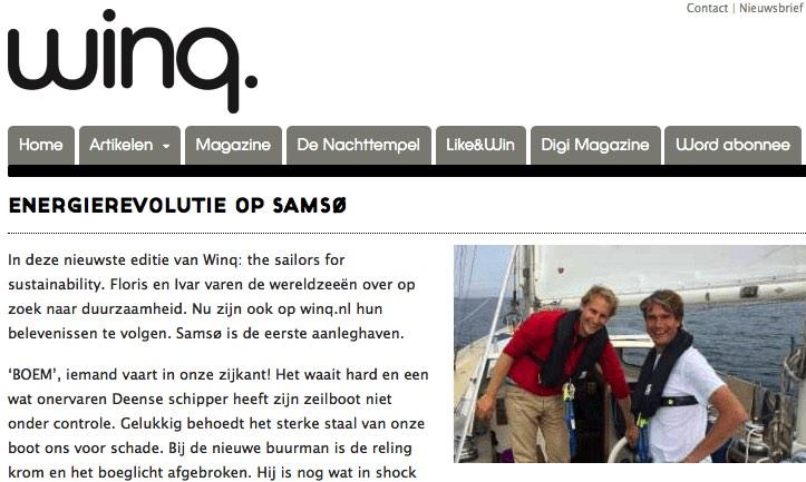 Winq.nl about Samsø