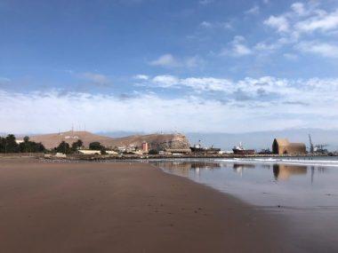 Arica, where the ocean meets the desert