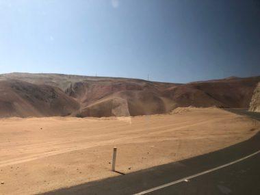 Bussing through the desert