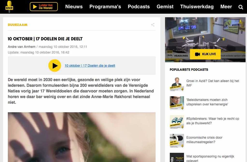 BNR Duurzaam interview sustainable whisky