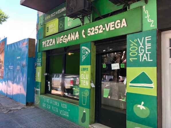 Pizza Vegana in Buenos Aires