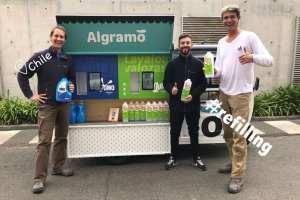 Algramo's refilling tricycle