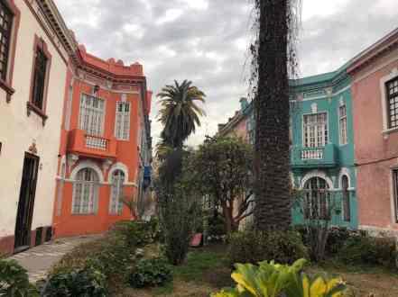 Wealthy neighbourhood in Santiago