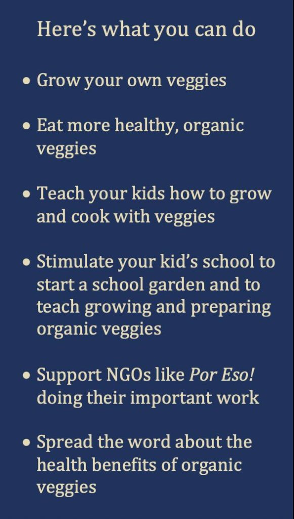 What you can do Veggies