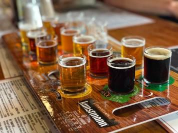 Beer tasting in Valdivia