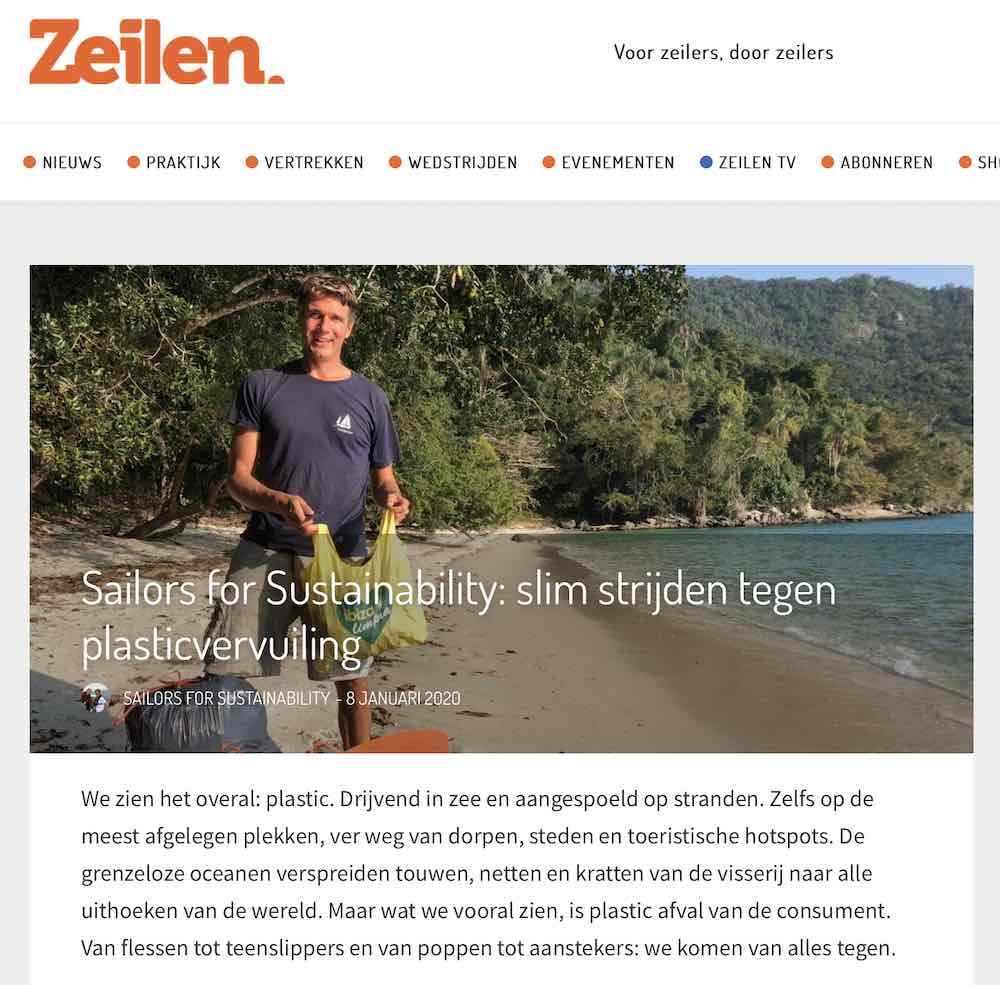 Sailors for Sustainability in Zeilen about Algramo