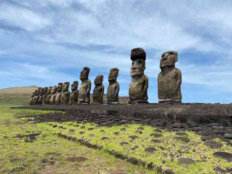 Rapa Nui's moai symbolize the mana of ancestors
