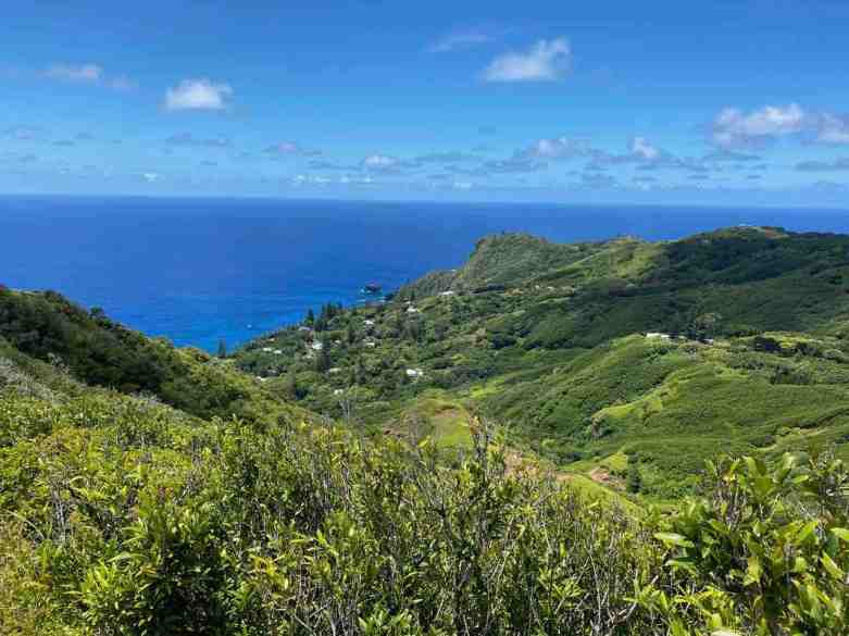 View from Pitcairn's highest point