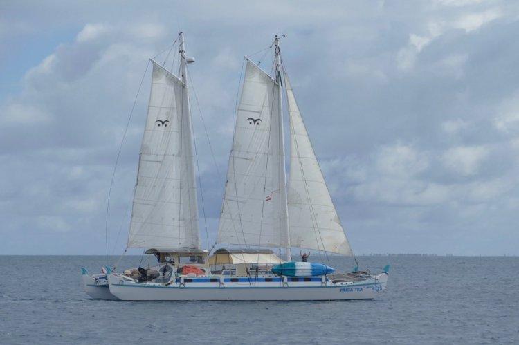Pakia Tea sailing