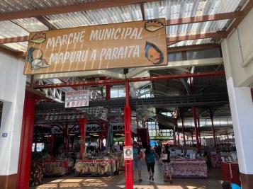Marche municipal in Papeete
