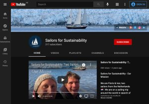 YouTube Channel Sailors for Sustainability