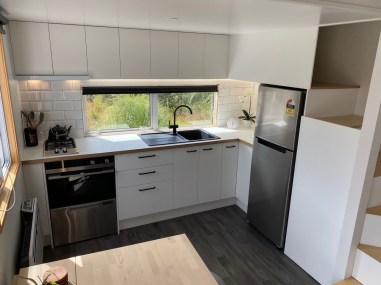 State-of-the-art kitchen is included