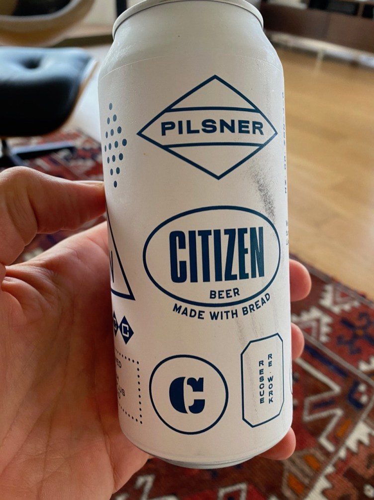 Citizen beer made with bread