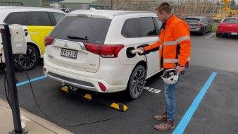 Driving on freshly produced renewable energy