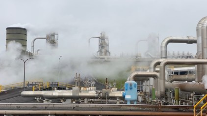 Geothermal power generation requires lots of installations and pipes