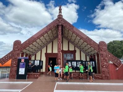 The Marae in Rotorua is open today!