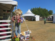 Winning scarecrow, 4-H Sheep club