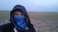 mongolia cold morning