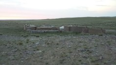 mongolia ger compound