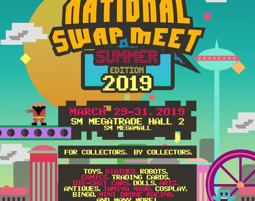 See you at the National Swap Meet Summer Edition 2019!