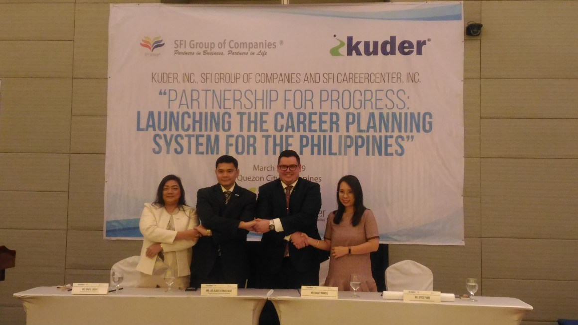 Kuder announces partnership with SFI Group to launch the Career Planning System for the Philippines