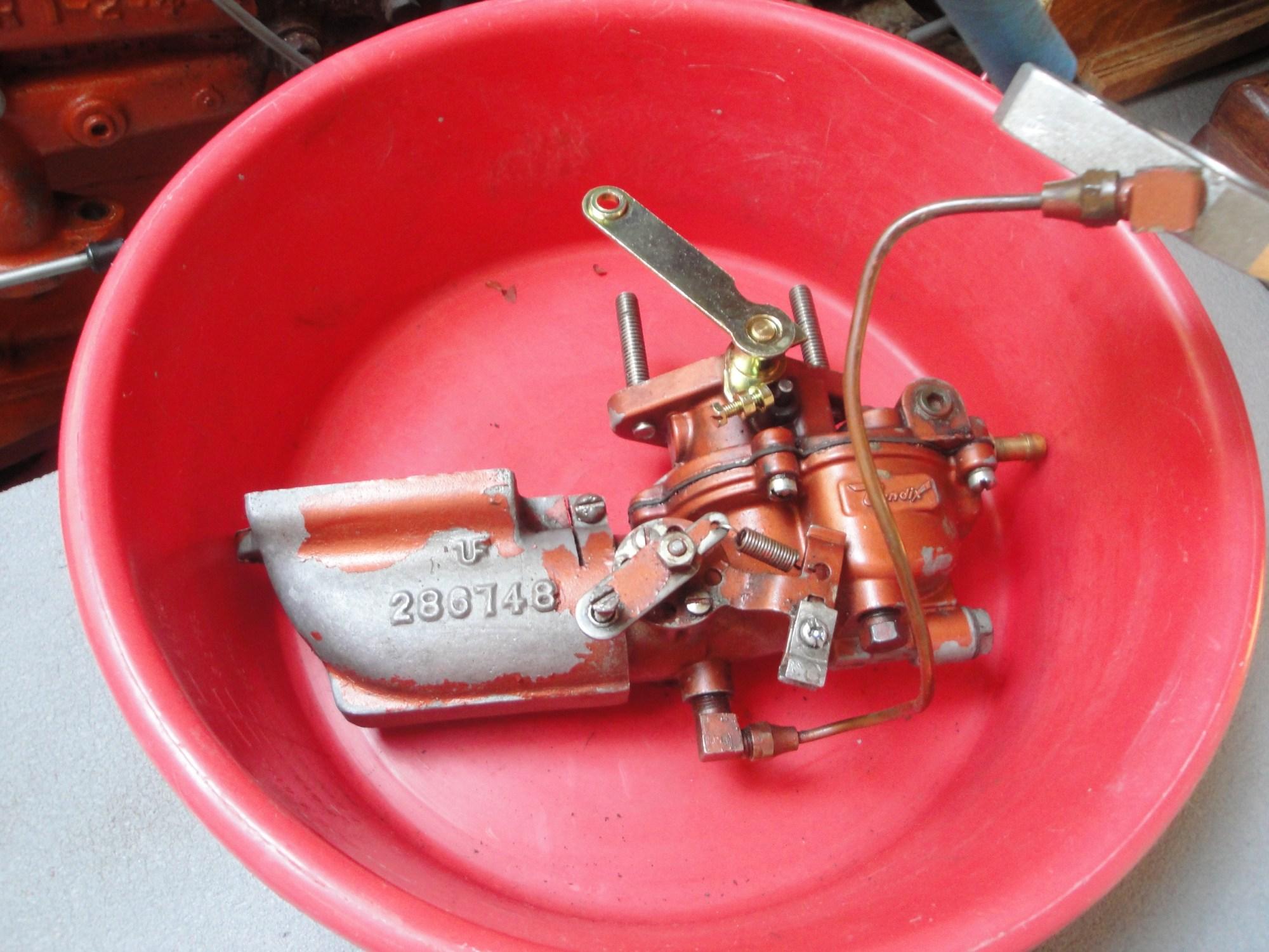 hight resolution of zenith carburetor for atomic 4 engine