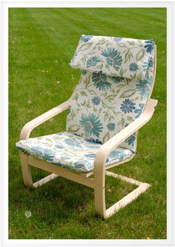 recover ikea poang chair  DoItYourself Advice Blog