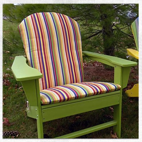 How to Make an Adirondack Chair Cushion  DoItYourself