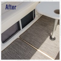 How to Replace Boat Carpet with Woven Flooring | Do-It ...