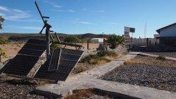 Solar Panels destroyed